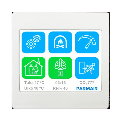 Parmair MAC-ohjauspaneeli